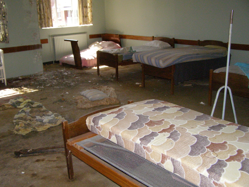 Old dormitory room